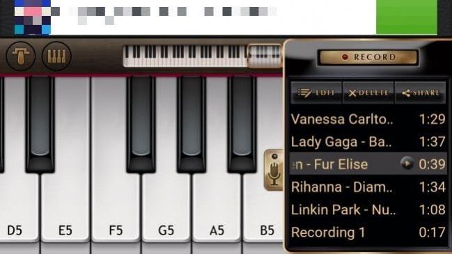 اپلیکیشن free piano
