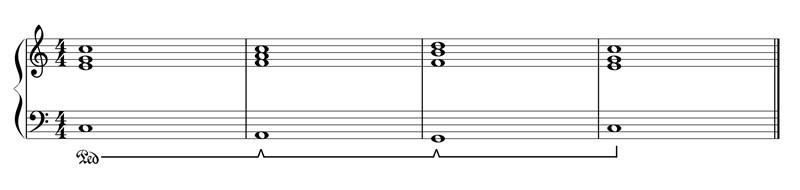 علامت پدال پیانو